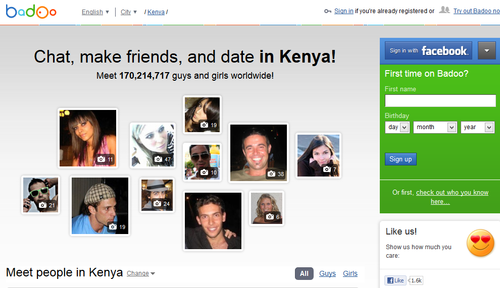 Dating chat in kenya