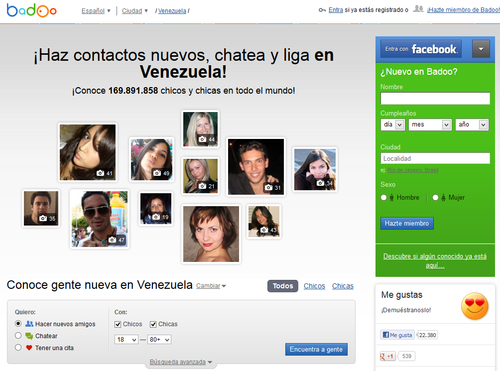 Venezuelan dating website