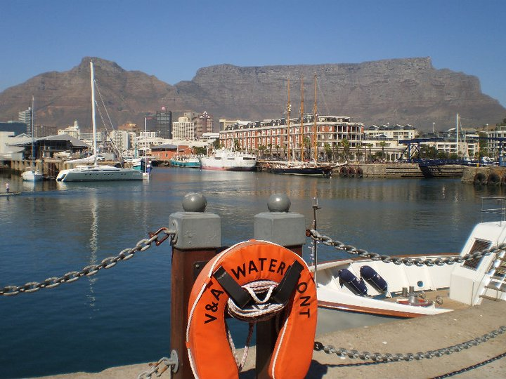 Picture of Table Mountain in Cape Town