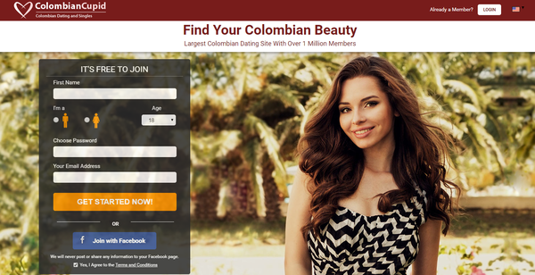 Best colombian dating website
