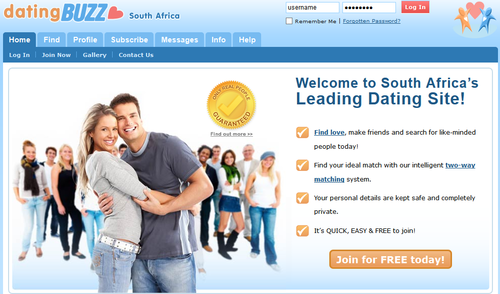 South African Dating - No.1 Free Fun & Popular Singles Dating Website.