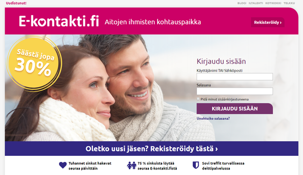 Finland dating sites in english