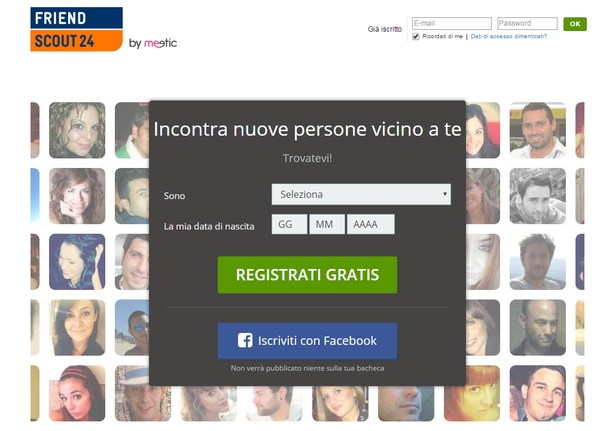 Online dating in italy