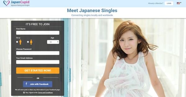 Japanese online dating