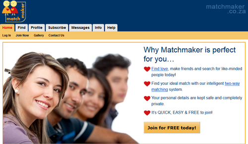Matchmaker South Africa