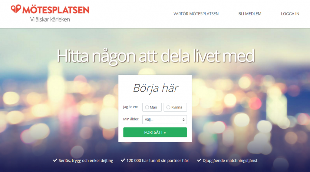 dating site motesplatsen