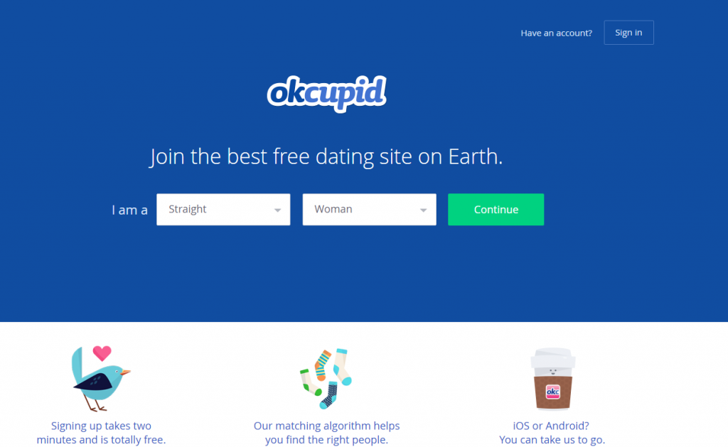 Funny introduction for dating site