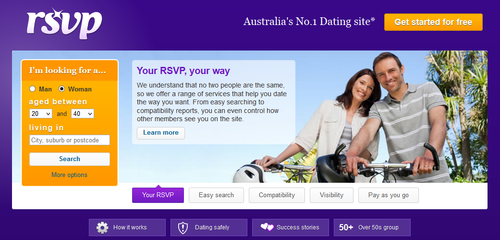 R S V P Dating Site