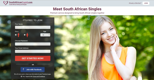Cupid south africa hookup side in pretoria