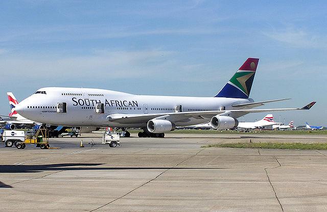 South African Airways Jet