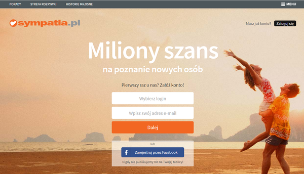 Free dating site in poland