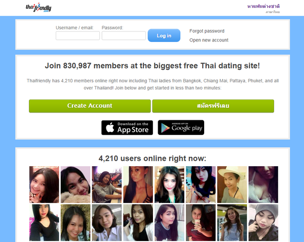 Thai free dating sites