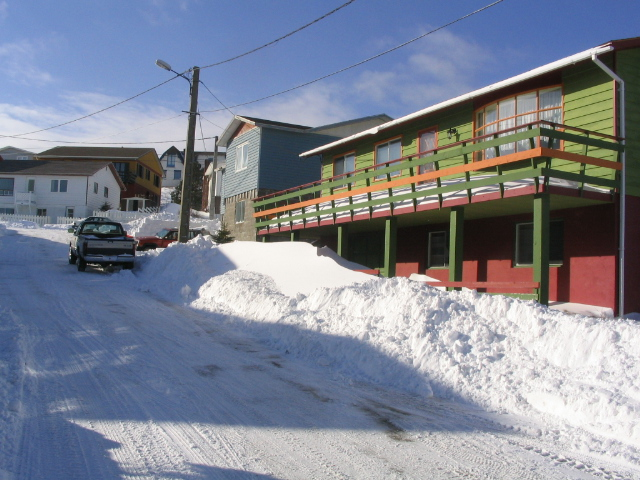 Winter in Saint Pierre and Miquelon