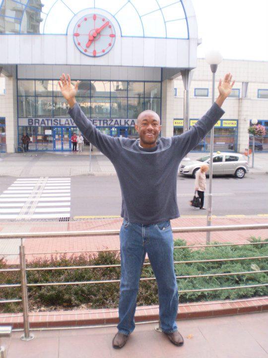 Me in Bratislava, Slovakia