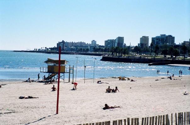 La Playa Ramirez, Montevideo, Uruguay