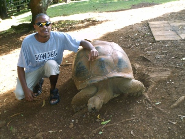 Me in Mauritius