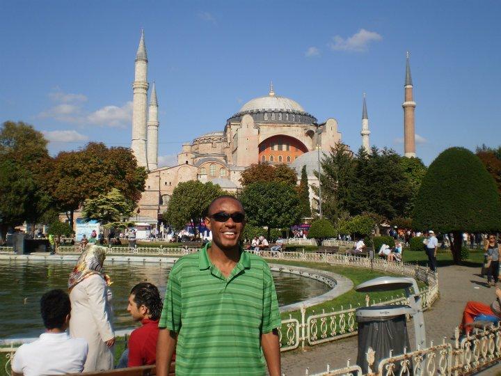 Me in Istanbul, Turkey