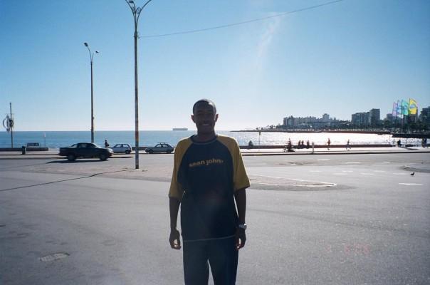 Me in Montevideo, Uruguay