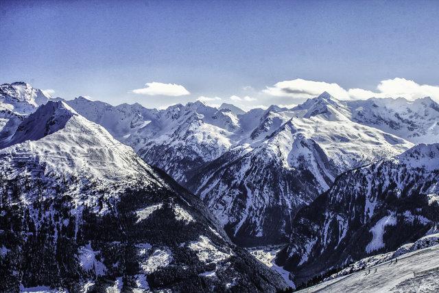 Mountain Landscape in Austria