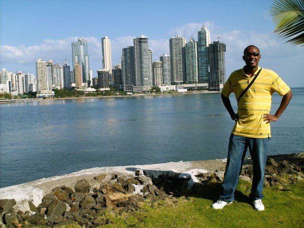 Me in Panama City, Panama