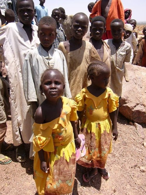 Kids in Chad