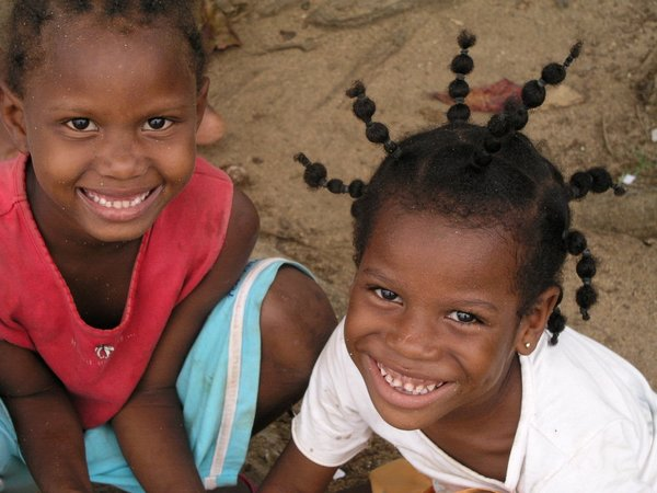 Children in Sao Tome and Principe