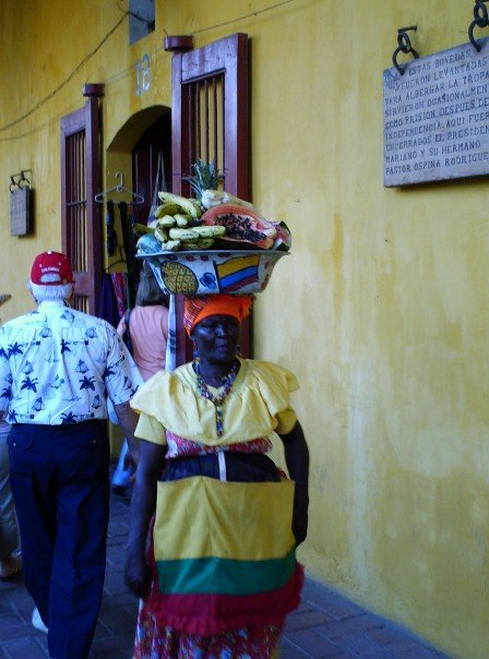 Woman in Cartagena, Colombia