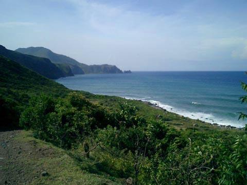 Coastal Cliffs in Montserrat