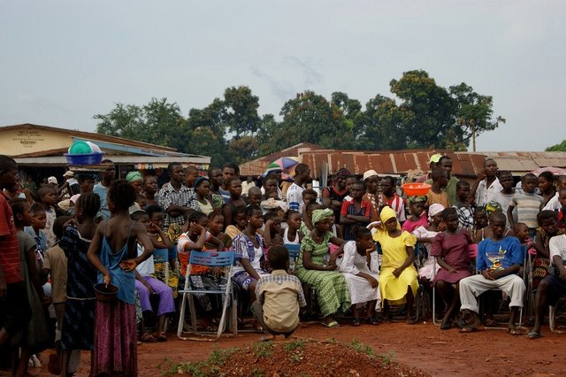 Community Theater in Sierra Leone