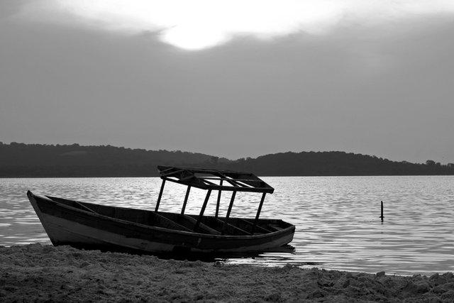 Fishing Boat at Lake Victoria