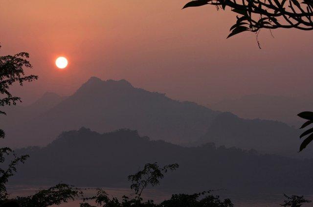 Laos at Sunset