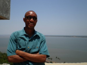 Overlooking Maputo, Mozambique