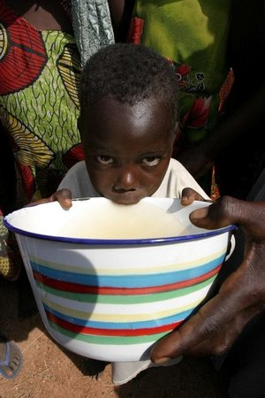 A young kid from Darfur, Sudan