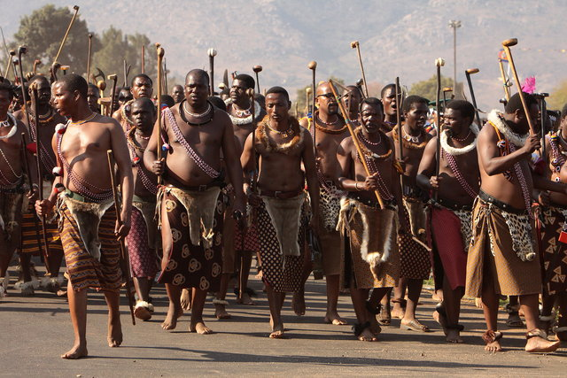 Reed Dance in Swaziland