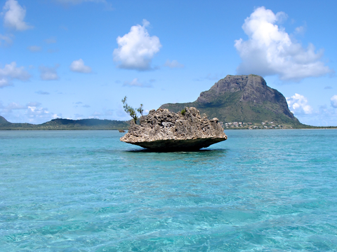 Beautiful picture of Mauritius