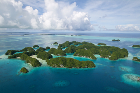 Beautiful scenery of Palau