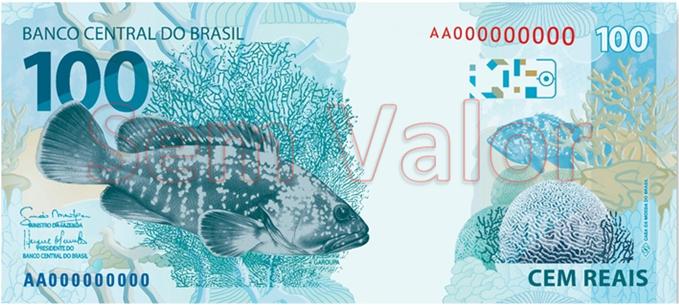100 Brazil Reais