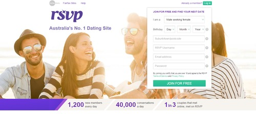 Up for it dating login
