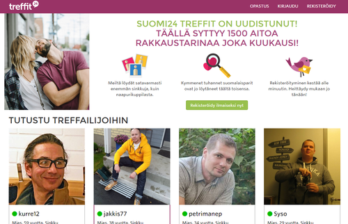 Free dating websites in finland