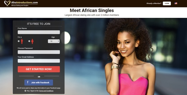 Online dating site in africa