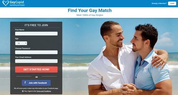 free gay dating site canada
